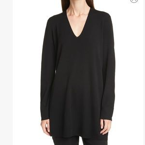 Eileen Fisher Long Sleeve Merino Wool Sweater